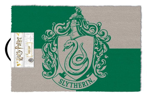 Harry Potter Slytherin House Crest Coir Doormat