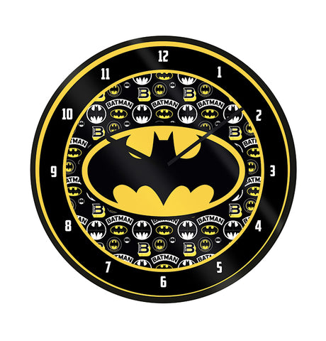 Batman Logo Wall Clock