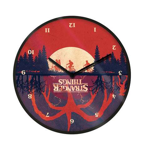 Stranger Things Upside Down Wall Clock