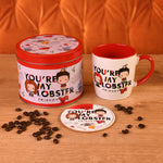 Friends You're My Lobster Mug and Coaster Gift Tin