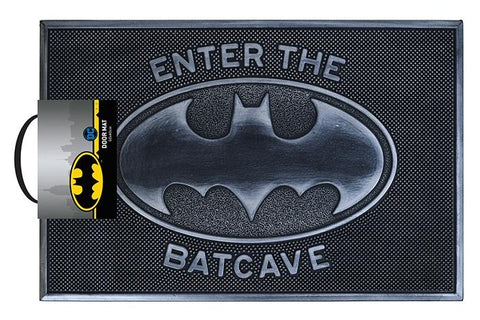 Batman Enter the Batcave Rubber Doormat