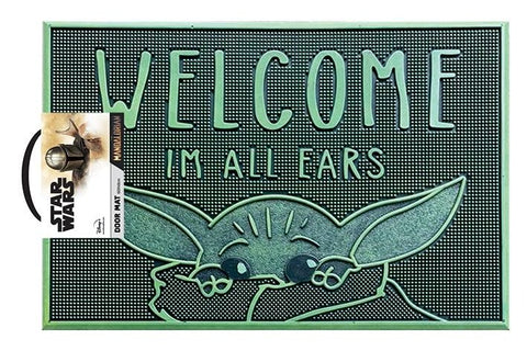 Star Wars The Mandalorian Baby Yoda Rubber Doormat