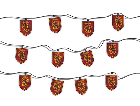 Harry Potter Gryffindor House Crest String Lights