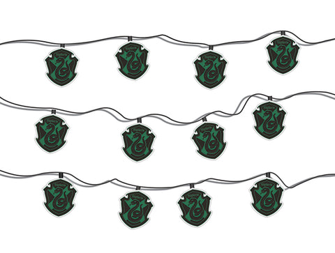 Harry Potter Slytherin House Crest String Lights