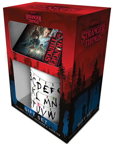 Stranger Things Mug & Coaster Gift Set