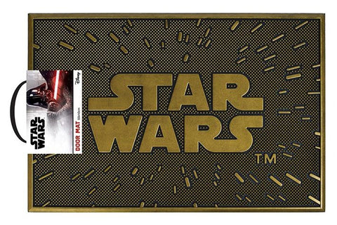 Star Wars Logo Rubber Doormat
