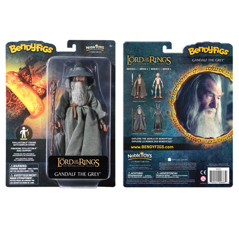 The Lord of the Rings Gandalf Bendyfig