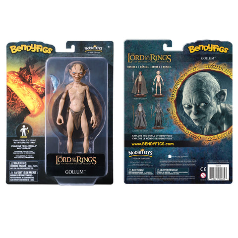 The Lord of the Rings Gollum Bendyfig