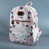 "Loungefly x Harry Potter ""Always"" Doe Patronus Floral Mini Backpack"