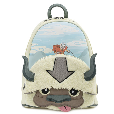 Loungefly x Nickelodeon Avatar Aang Appa Plush Mini Backpack