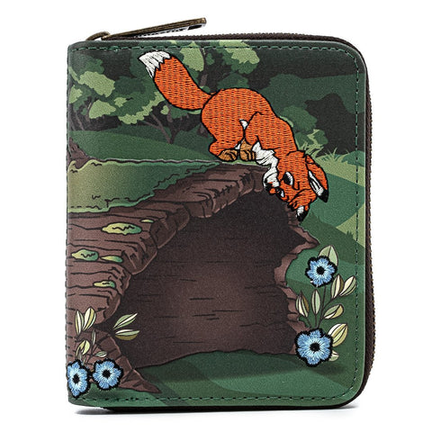 Loungefly x Disney Fox and the Hound Copper Tod Purse