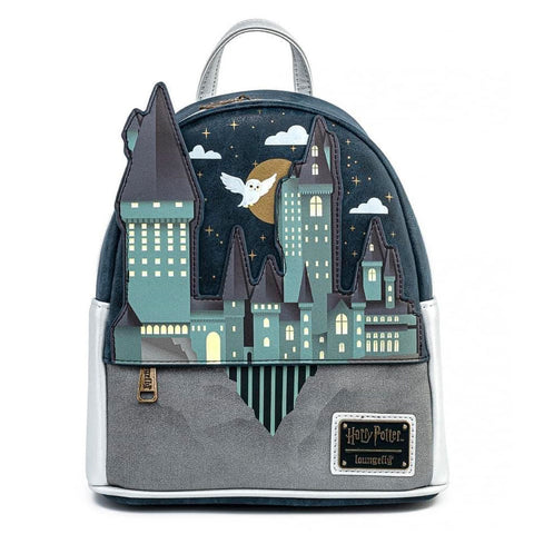Loungefly x Harry Potter Hogwarts Castle Scene Mini Backpack