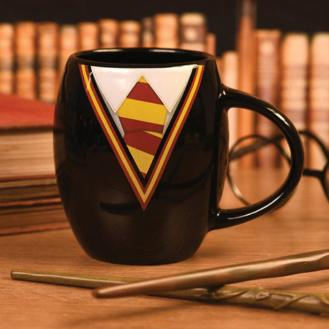 Harry Potter Gryffindor Uniform Oval Mug