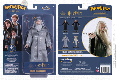 Harry Potter Albus Dumbledore Bendyfig