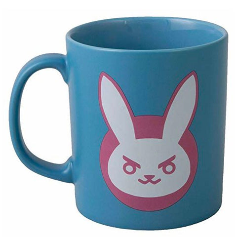 Overwatch D.Va Bunny Blue Ceramic Mug