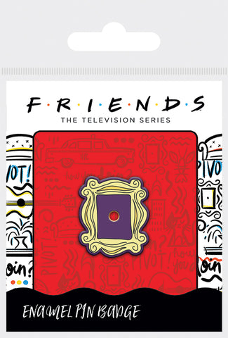 Friends Frame Enamel Pin Badge