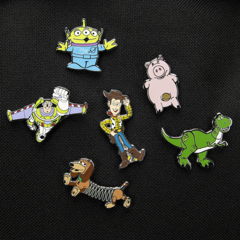 Toy Story Enamel Pin Badges