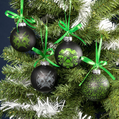 Official Xbox Christmas Tree Bauble Set