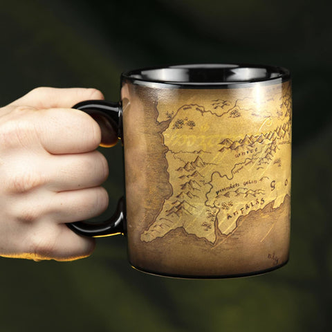 The Lord of the Rings XL Heat Change Mug