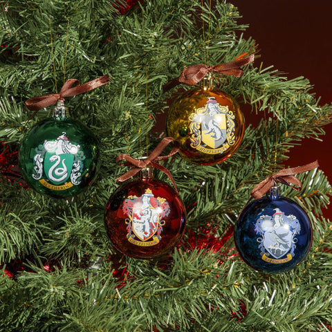 Harry Potter Christmas Tree Bauble Set