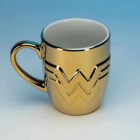 Wonder Woman 1984 Gold Chrome Mug