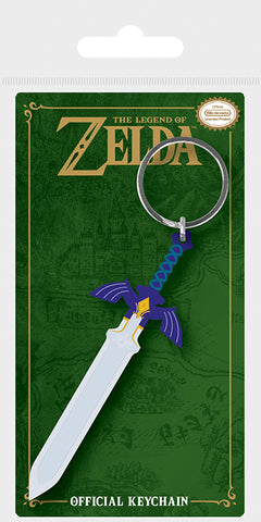The Legend Of Zelda Master Sword Rubber Key Chain
