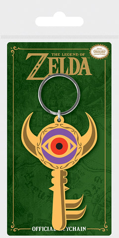 The Legend Of Zelda Boss Key Rubber Key Chain
