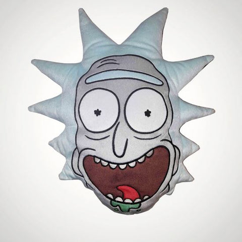 Rick and Morty - Rick Sanchez Embroidered Cushion
