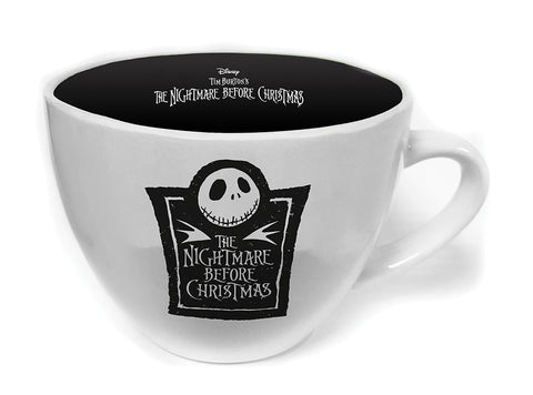 The Nightmare Before Christmas Cappuccino Coffee Mug