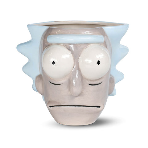 Rick and Morty Rick's Head 3D Mug