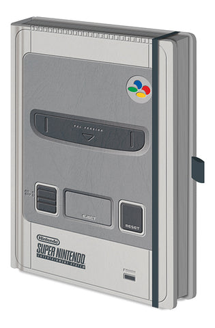 Nintendo SNES Premium Notebook