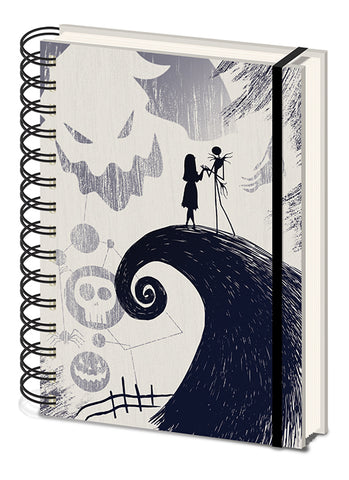 The Nightmare Before Christmas Premium Notebook