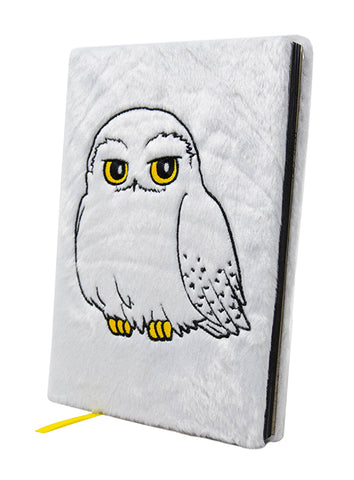Harry Potter Hedwig A5 Furry Notebook