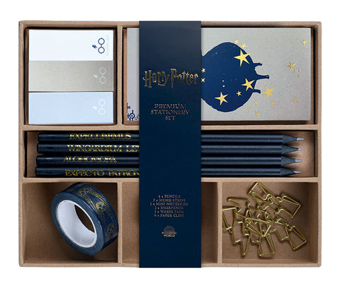 Harry Potter Spells and Charms Premium Stationery Set