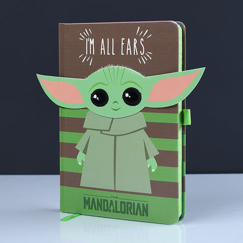 Star Wars The Mandalorian Baby Yoda I'm All Ears Notebook