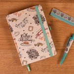 Friends Premium Marl A5 Notebook