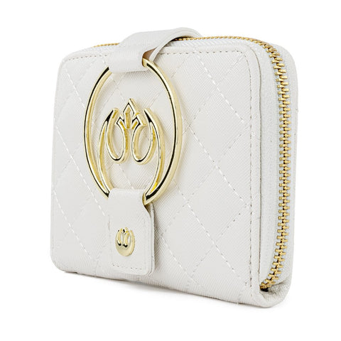 Loungefly x Star Wars Rebel White Gold Purse
