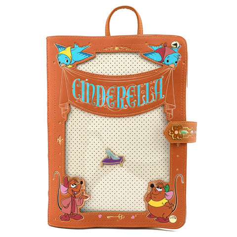 Loungefly x Disney Cinderella Pin Trader Backpack