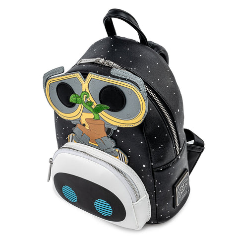 Loungefly x Pixar Wall-E Eve Boot Earth Day Mini Backpack