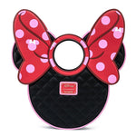 Loungefly x Disney Minnie Mouse Quilted Head Handbag