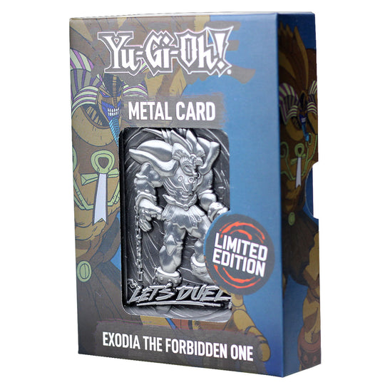 Yu-Gi-Oh! Exodia the Forbidden One Limited Edition Collectible Card