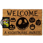 The Nightmare Before Christmas - A Nightmare Awaits Coir Doormat