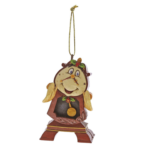 Disney Traditions by Jim Shore - Cogsworth Hanging Ornament