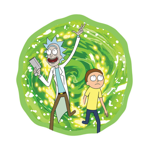 Rick and Morty Mouse Mat - Portal