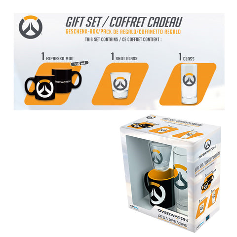 Overwatch Mug & Glass Gift Set