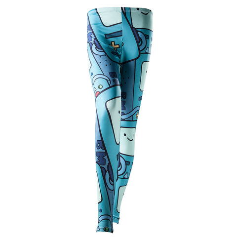 Adventure Time All Over Print BMO Leggings