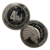 Alien 40th Anniversary Limited Edition Collectors Coin