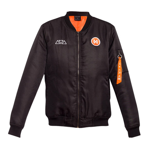 Anthem Interchangeable Patches Bomber Jacket
