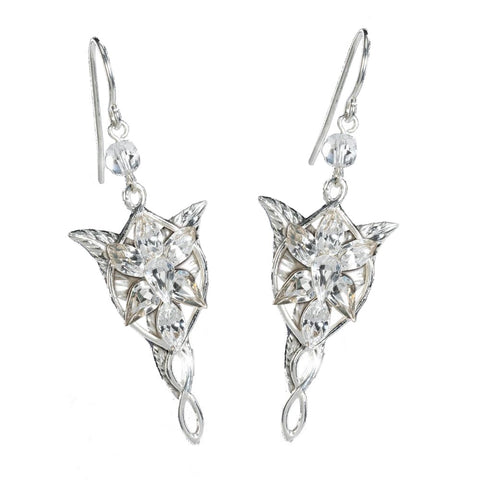 Lord of the Rings Sterling Silver Arwen Evenstar Earrings