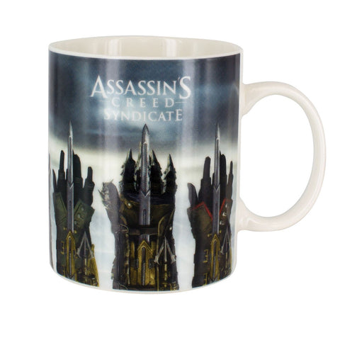 Assassins Creed Gauntlet Heat Changing Mug